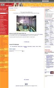 オーストラリアのライブカメラ:オーストラリア南部,アデレードの「ラジオ 891 5AN」のスタジオ内の様子