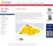 シンガポールのライブカメラ:シンガポール国内の主要道の今の道路状況