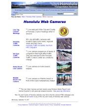 アメリカ合衆国 ハワイ州のライブカメラ:ホノルルのワイキキビーチやクヒオビーチの今の様子