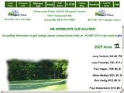 アメリカ合衆国 インディアナ州のライブカメラ:クリアークレスト・パシンズ(ゴルフ場)のゴルフコースの様子