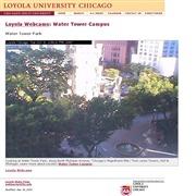 アメリカ合衆国 ミシガン州のライブカメラ:「ロヨラ大学」のウォータータワー・キャンパスの今の様子