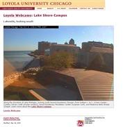 アメリカ合衆国 ミシガン州のライブカメラ:「ロヨラ大学」のレイクショアー・キャンパスの今の様子