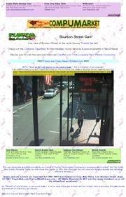 アメリカ合衆国 ルイジアナ州のライブカメラ:バーボン・ストリートの様子