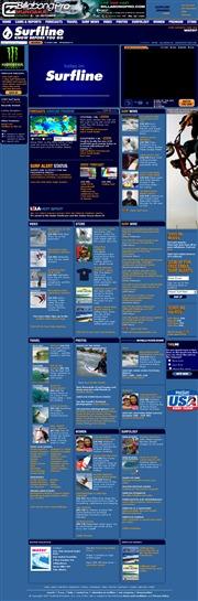 アメリカ合衆国 総合のライブカメラ:「SurfLine」による全米各地のサーフポイントの様子と気象情報