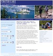 アメリカ合衆国 オレゴン州のライブカメラ:州南方カリフォルニア州境近くにあるクレーター・レイク・国立公園の景色
