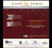 フランスのライブカメラ:南フランス,サントロペにあるレストラン「cafe de paris」から見たサントロペ港と店内の様子