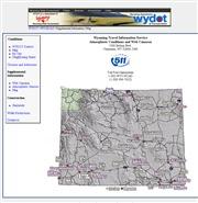 アメリカ合衆国 ワイオミング州のライブカメラ:州南東各地,州都シャイアン,ララミー周辺の今の道路状況