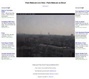 フランスのライブカメラ:パリの街の景色