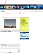 アメリカ合衆国 インディアナ州のライブカメラ:「WANE.COM」による州北東,フォートウェンの街の景色