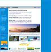 オーストラリアのライブカメラ:ブリスベン北,サンシャイン・コーストの中心にあるマルーチーのビーチの様子