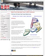 アメリカ合衆国 ニューヨーク州のライブカメラ:ニューヨーク市交通省による市内各地の今の道路状況