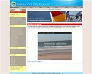 オーストラリアのライブカメラ:ブリスベーン北方近郊,サンシャインコーストの起点,カラワンドラにあるキングス・ビーチの今の様子
