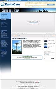 アメリカ合衆国 ワシントン州のライブカメラ:シアトルのクィーン・アン・ヒルから見たスペースニードルタワーとダウンタウンの今の様子