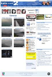 アメリカ合衆国 オレゴン州のライブカメラ:州北西,テレビ局「Katu TV」によるポートランド市内各地とその周辺の今の様子
