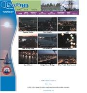 アメリカ合衆国 ニューヨーク州のライブカメラ:オンタリオ湖畔,オスウエゴ各地の今の様子