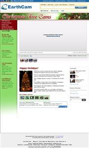 アメリカ合衆国 ニューヨーク州のライブカメラ:ロックフェラーセンターの恒例のクリスマス・ツリーの今の様子