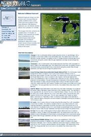 アメリカ合衆国 総合のライブカメラ:アメリカの中西部北部各地の今の景色と今の大気の汚染状況