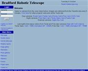 スペイン領カナリア諸島のライブカメラ:テネリフェにあるブラッドフォード大学のロボット天体望遠鏡からのライブ中継