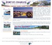 バルバドスのライブカメラ:バルバドス島北西,セント・ピーターにあるマリンリゾート「Port St. Charles」の海辺の今の様子