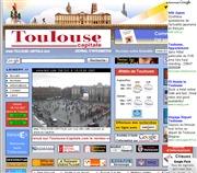 フランスのライブカメラ:南フランス,トゥールーズの街の中心にあるキャピトル広場と市庁舎の今の様子