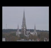 フィンランドのライブカメラ:フィンランド東部,北カレリア地方の中心都市,ヨエンスーの今の街角の様子