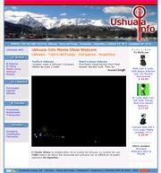アルゼンチンのライブカメラ:ウシュアイア,モンテ・オリビア(オリビア山)の今の様子