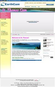 ヴァージン諸島のライブカメラ:米国領ヴァージン諸島,セントトーマス島,シャーロット・アマリィの港の今の景色