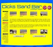 フランスのライブカメラ:フランス南西,スペイン国境近く,ハセゴーの海岸にあるバー「Dick's Sand Bar」から見た今のビーチの様子
