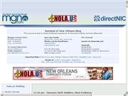 アメリカ合衆国 ルイジアナ州のライブカメラ:ニューオーリンズにある「directNIC」社のオフィスからのライブ中継