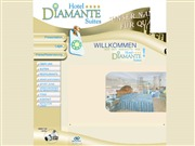 スペイン領カナリア諸島のライブカメラ:テネリフェ島,プエルト・デ・ラ クルスにあるホテル「Hotel Diamante Suites」のエントランスの今の様子
