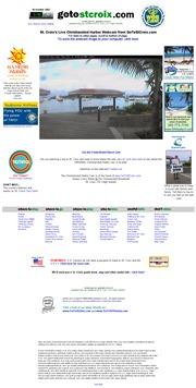 ヴァージン諸島のライブカメラ:米国領ヴァージン諸島,セント・クロイ島,クリスチャンステッド・ハーバーの今の様子