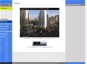 チリのライブカメラ:サンチアゴ市内,アポキンド通り界隈の今の景色