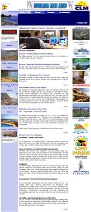 スペイン領カナリア諸島のライブカメラ:ラ・ゴメラ島,ラジオ局「Radio CLM」による王の谷(VALLE GRAN REY)の今の景色