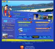 フランスのライブカメラ:南フランス,アーゲル・シュール・メールのメインビーチの今の様子