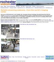 アメリカ合衆国 ニューヨーク州のライブカメラ:州西部,ロチェスターのパーク通りと「ジネス・レストラン」前の今の街の様子