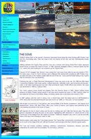 グアム島のライブカメラ:グアム島南部,イパン・タロフォフォのレストラン「ジェフズ・パイレーツ・コーブ」から見た今のビーチと海の景色
