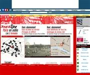 フランスのライブカメラ:パリ市内の今の道路状況と今の街の様子
