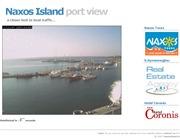 ギリシャのライブカメラ:エーゲ海南東部,キクラデス諸島,ナクソス島の港の今の様子
