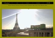 フランスのライブカメラ:パリ右岸16区のセーヌ河畔にある「ホテル・エバーランド」から見たエッフェル塔の今の様子