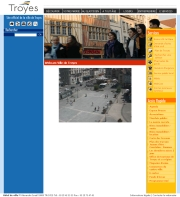フランスのライブカメラ:フランス北東部,シャンパーニュ地方にあるトロワのイスラエル広場の今の様子