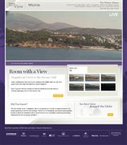 ギリシャのライブカメラ:首都アテネ南方近郊の高級リゾート地,ヴォウリアグメニの「ザ・ウェスティン・アテネ・リゾート」から見たサロニコス湾の今の景色