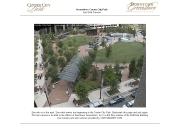 アメリカ合衆国 ノースカロライナ州のライブカメラ:州中心部,グリーンズボロのダウンタウンの中心部にある公園,センター・シティ・パークの今の様子