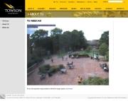 アメリカ合衆国 メリーランド州のライブカメラ:州最大の都市,ボルティモア近郊,タウソンにある「タウソン大学」のキャンパスの今の様子