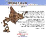北海道のライブカメラ:函館市,立待岬から見た本州,大間方面の今の景色